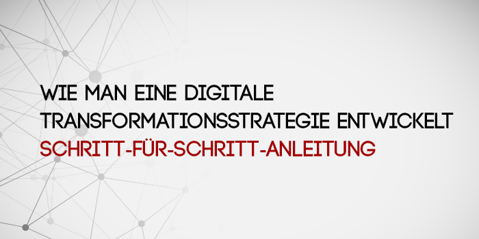 <p>Digitale Transformationsstrategie entwickelt</p>